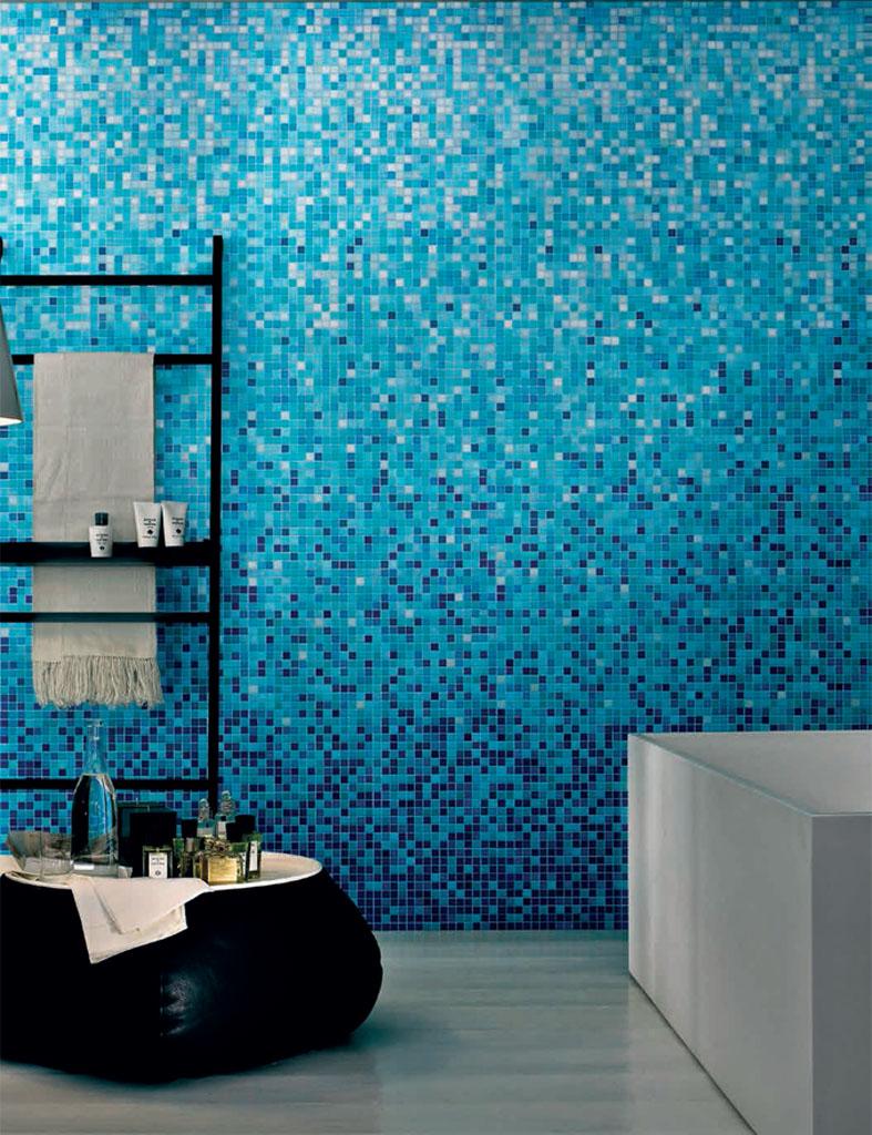 Mosaik Bad Modern